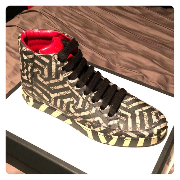 eafbe495dfa Gucci caleido high tops size G13